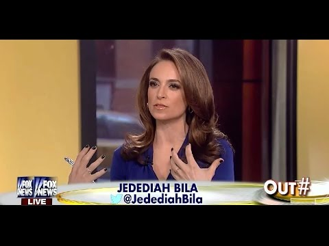 • Jedediah Bila Contrasts Hillary Clinton With Sarah Palin • 11/28/14 •