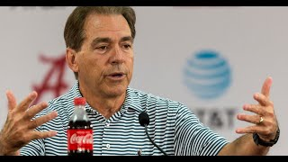 Nick Saban wraps up LSU, Looks to Mississippi State