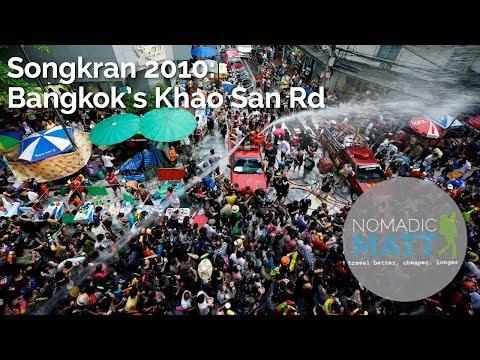 Songkran 2010: Bangkok's Khao San Rd