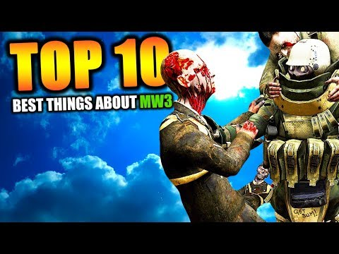 """Top 10 """"THINGS MW3 DID RIGHT"""" in COD HISTORY (Call of duty)"""