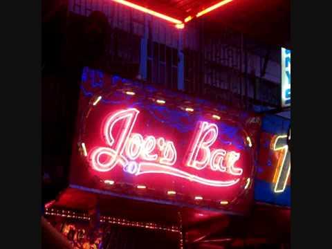 Neon Sign Joe's Bar Soi Cowboy Bangkok