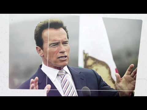 Arnold Schwarzenegger in Australia - Financial Education Summit