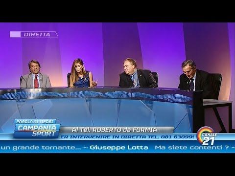 Campania Sport (parola ai tifosi) post Napoli-Roma 2-0 - Canale 21 01/11/14