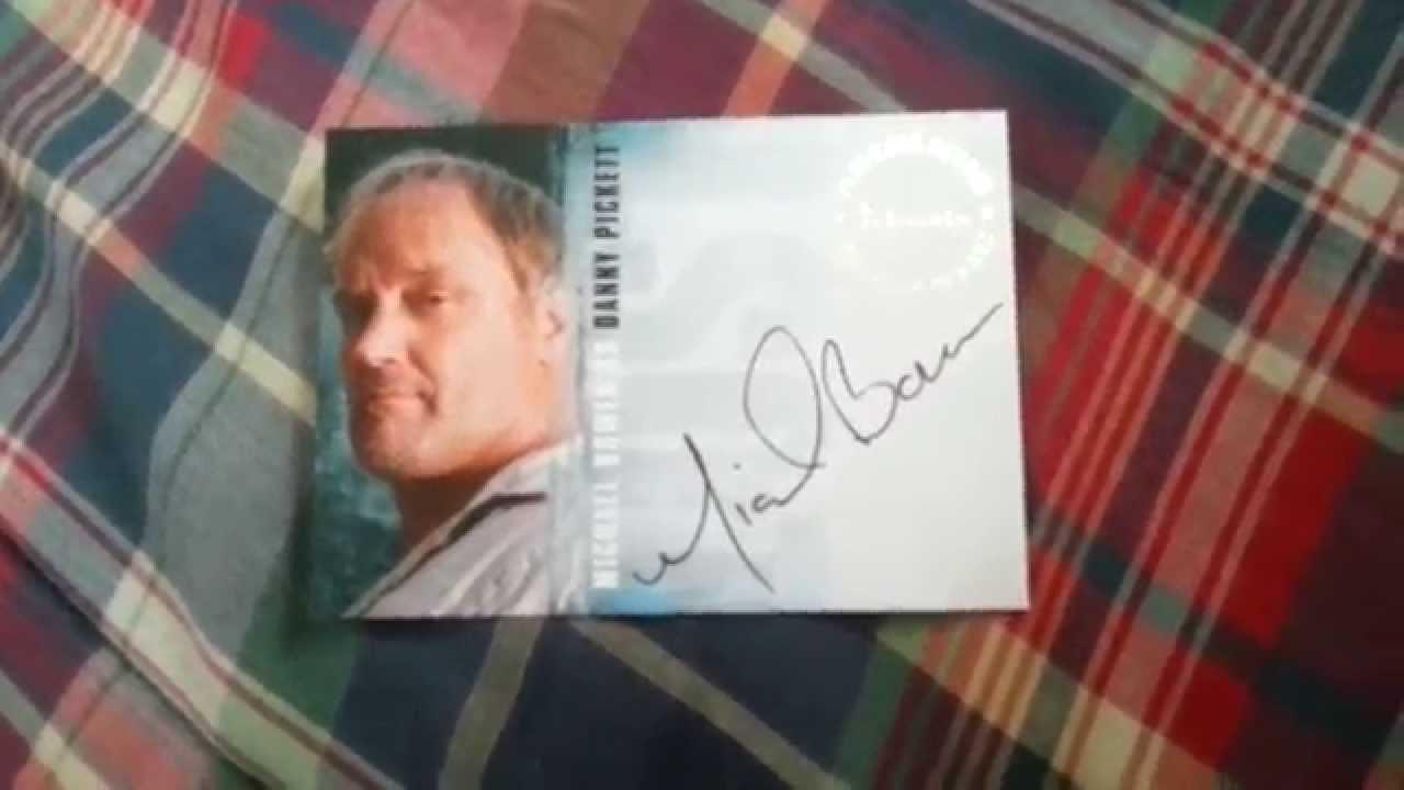 Michael Lost Actor Lost Autograph Michael Bowen