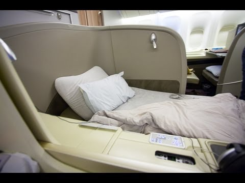 JL9 ORD-NRT Japan Airlines Chicago to Tokyo First Class Suites Boeing 777-300ER (77W) Canon 5D