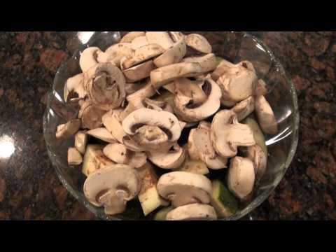 Easy Chicken Parmigiana and Veggies