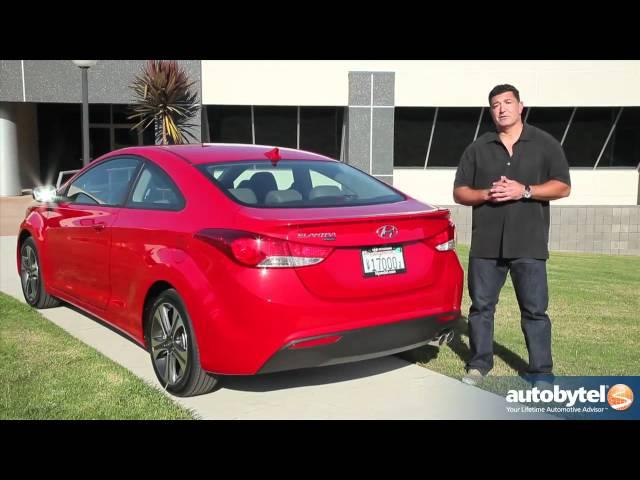 2013 Hyundai Elantra Coupe Car Video Review