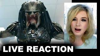 The Predator 2018 Trailer REACTION
