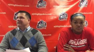 NJIT WBB Post Game vs Binghamton