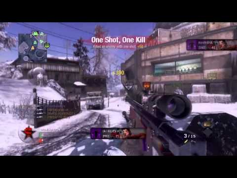 Paralyzed By SiiKParanoizer A Black Ops Montage [HD]