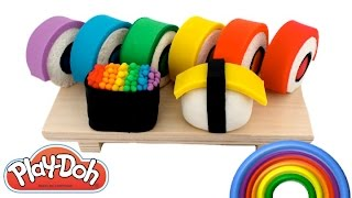 Learn Colors with Play Doh Peppa Pig Frozen Inside Out MLP LPS Hello Kitty Minions RainbowLearning