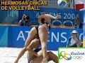 rio 2016 Hermosas Chicas de Volleyball