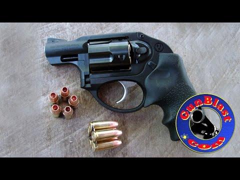Shooting the Ruger LCR 9x19mm Five-Shot Pocket Revolver- Gunblast.com