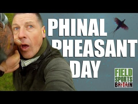 Final Pheasant Day of the Season with Andy Crow  (episode 219)