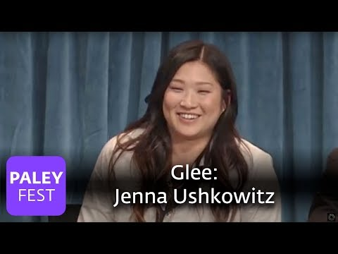 Glee - Jenna Ushkowitz On Tina and Mike's Relationship