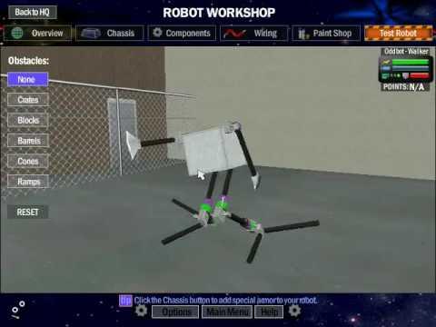 Robot Arena 2 Robot Designs Robot Arena 2 Oddbot Walker