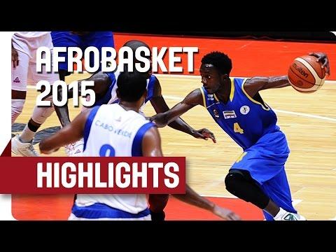 Cape Verde v Gabon - Game Highlights - Round of 16 - AfroBasket 2015