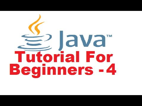 Java Tutorial For Beginners 4 - Variables and Types in Java