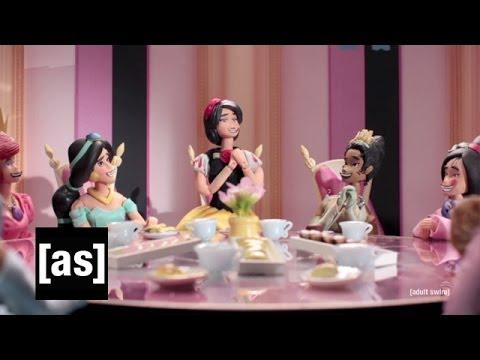 Disney Princess War | Robot Chicken | Adult Swim