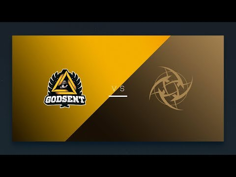 CS:GO - GODSENT vs. NiP [Cbble] Map 2 - EU Day 22 - ESL Pro League Season 6