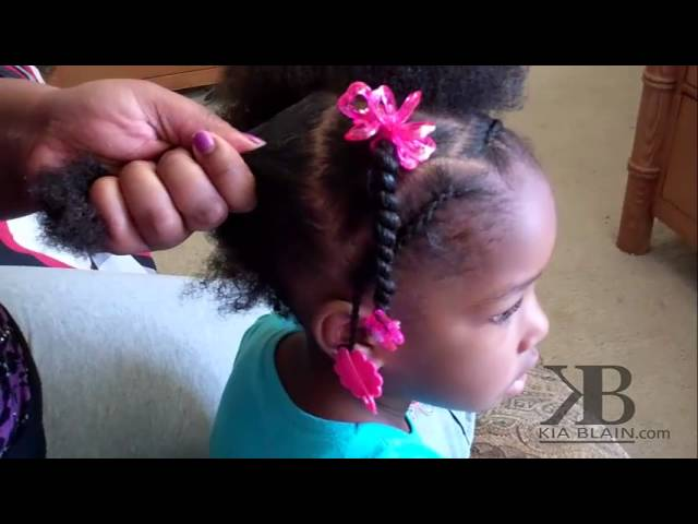 Cute Hairstyles For Little Girls With Weave ▶ Cute Girls Hairstyles