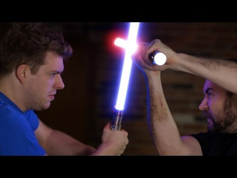 'Return of the Apprentice' (lightsaber fight) - wheezywaiter & Corey Vidal