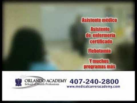 TV COMMERCIAL WITH ME AS TEACHER AT ORLANDO ACADEMY