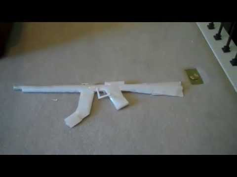 How to Make a Paper Gun that Shoots Paper Bullets Without Blowing!