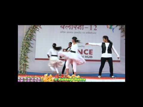 Disco Deewane Song Dance In ballerina - 2012 By Prince Education Hub, Sikar(17 Of 20) video