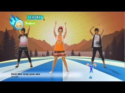 Just Dance Kids 2 - Just The Way You Are - Xbox Kinect.flv