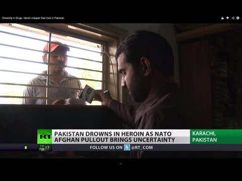 Drowning in Drugs: Afghan heroin fuels Pakistan's deadly addiction :: Lucy Kafanov reports