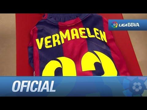 Debut de Vermaelen con el Barça en el último partido de Liga
