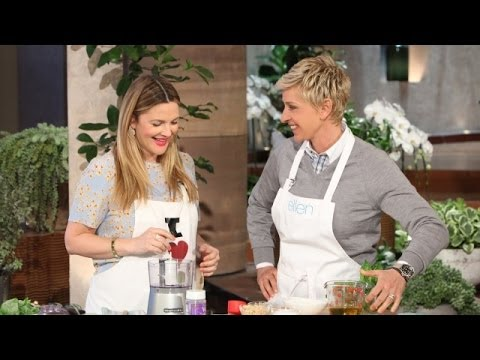 Drew Barrymore's Delicious Pesto