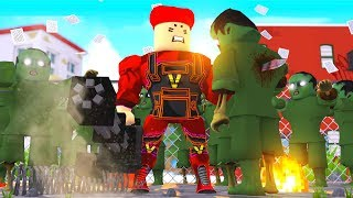 Roblox - I CREATED A SUPER SOLDIER! (Roblox Tower Battles)