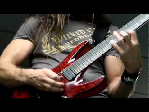 AMAZING GUITAR SOLO!!!! CHRIS BRODERICK of MEGADETH