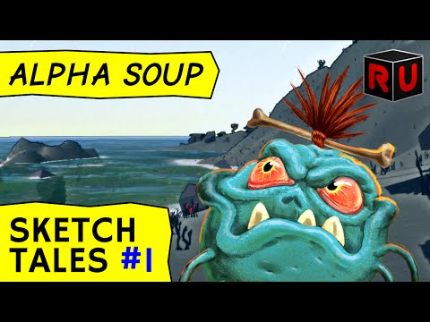 Sketch Tales gameplay: Draw & fight in RPG sandbox game | Let's play Sketch Tales ep 1 [Alpha Soup]