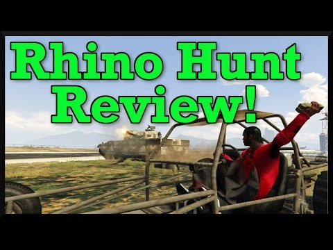 GTA 5: Rhino Hunt Review! (Worse Adversary Mode Yet?) Discussion About The Balance Of Rhino Hunt