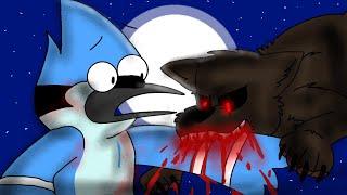 "Mordecai & Rigby turn into Werewolves! ""Regular Show"""