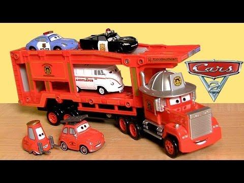 New Mack Truck Hauler Tomica Rescue-Go-Go Takara Tomy Disney Pixar Cars Toons タカラトミー