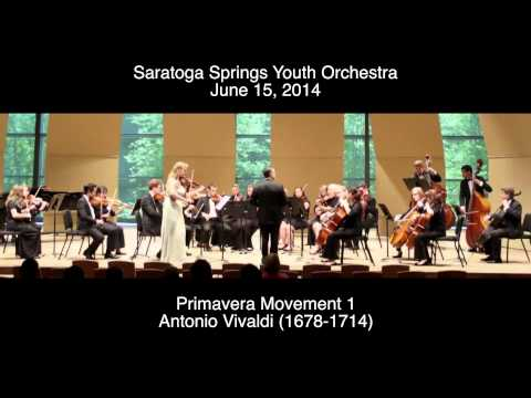 Antonio Vivaldi - La Primavera Movement 1