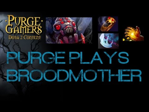 Dota 2 Purge plays Broodmother