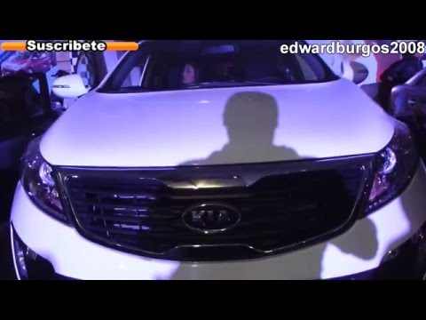 2013 kia sportage revolution colombia brasil mexico Argentina video de carros auto show FULL HD