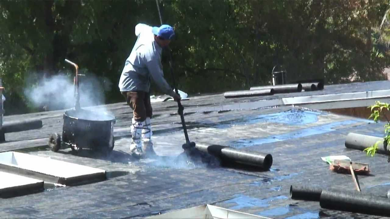 Modern Roofing Tar Roofing Youtube