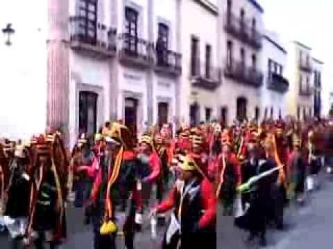 Desfile Morismas de Bracho Zacatecas Zac, 2013