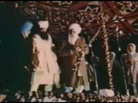 Kirpal Singh - original film documents - During the Unity of Man Conference, 05/06 February, 1974