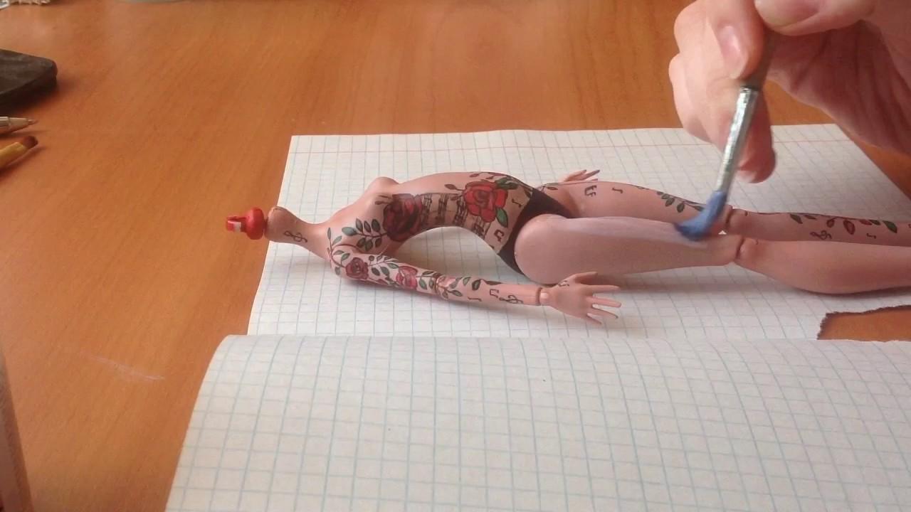 Как сделать татуировку для кукол 269