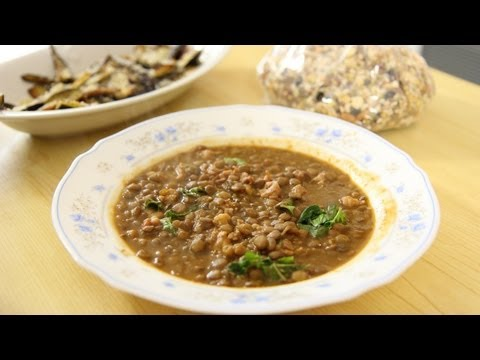 Lentils with Sausage & Nonna