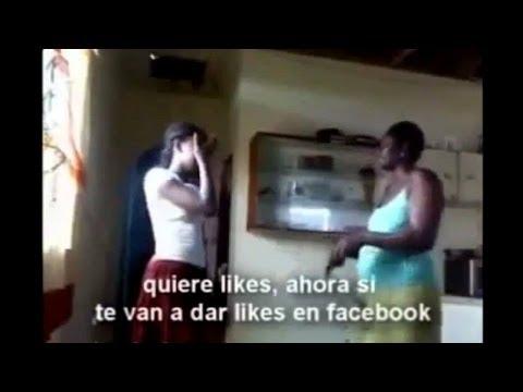 Madre golpea a su hija por subir fotos desnuda a Facebook || Mala-Copa Show