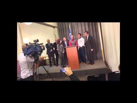 Mouhcine El Meliani, point de presse