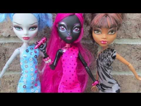 MONSTER HIGH DRESS TUTORIAL